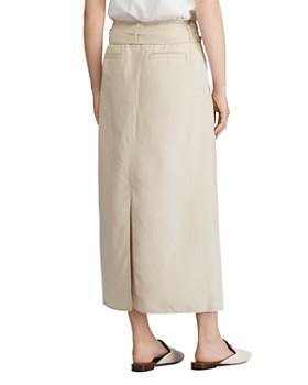 Ralph Lauren - Belted Maxi Skirt