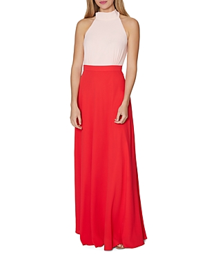 Laundry by Shelli Segal Color-Block Gown