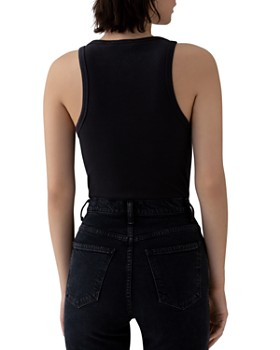 AGOLDE - Ribbed High-Neck Tank