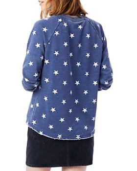 ALTERNATIVE - Lazy Day Star Print Sweatshirt