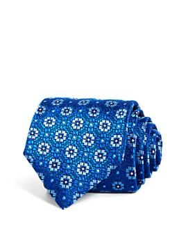 Canali - Geometric Florette Silk Classic Tie