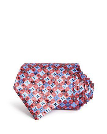 Ermenegildo Zegna - Floret Medallions Silk Classic Tie