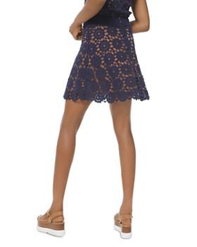 MICHAEL Michael Kors - Medallion-Pattern Lace Mini Skirt