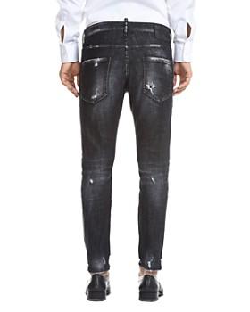 DSQUARED2 - Skater Skinny Fit Jeans in Black