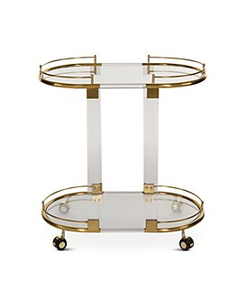 SAFAVIEH - Lennon Acrylic Bar Trolley