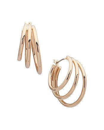 Ralph Lauren - Three Row Hoop Earrings