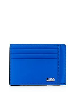 BOSS Hugo Boss - Signature Sport Leather Card Case