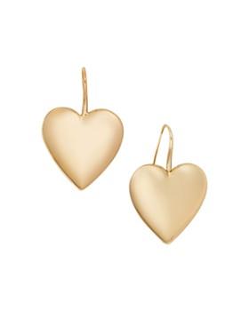BAUBLEBAR - Viviane Heart Drop Earrings