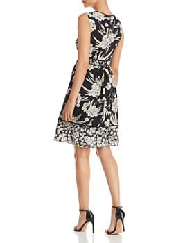 KARL LAGERFELD Paris - Mixed Floral-Print Dress