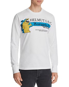 Helmut Lang - Standard Long-Sleeve Graphic Tee