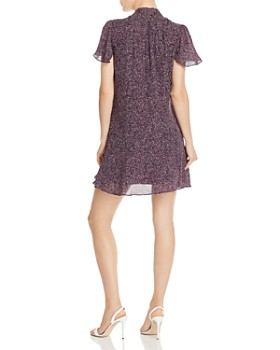 Parker - Indie Ruffled Printed Silk Dress