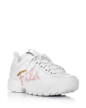 FILA - Women's Disruptor II Script Athletic Sneakers