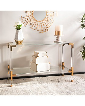 SAFAVIEH - Couture Arverne Acrylic Console