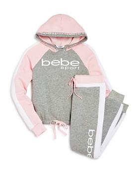 bebe - Color-Block Hoodie & Jogger Pants - Big Kid