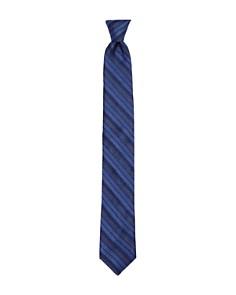 Ted Baker - Textured Stripe Skinny Tie