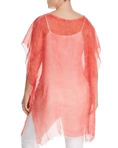 Eileen Fisher Plus - Sheer Poncho Top