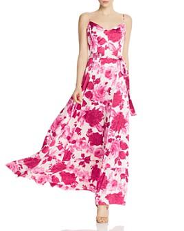 Betsey Johnson - Floral Print Maxi Dress