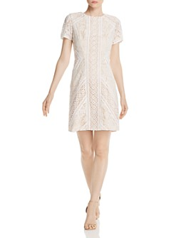 Eliza J - Lace Shift Dress