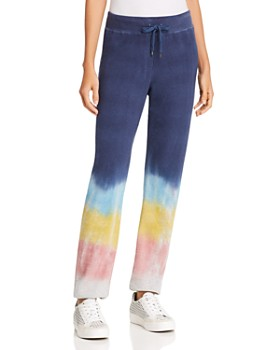 Sundry - Rainbow Dip-Dye Sweatpants