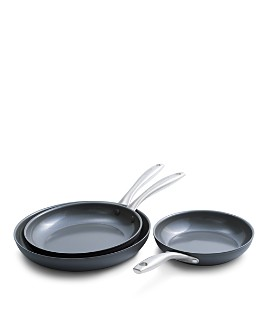 GreenPan - Diamond Enhanced Ceramic Nonstick Frypan Set - 100% Exclusive