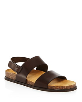 cad5035f012 The Men's Store at Bloomingdale's - Men's Leather Sandals - 100% Exclusive  ...