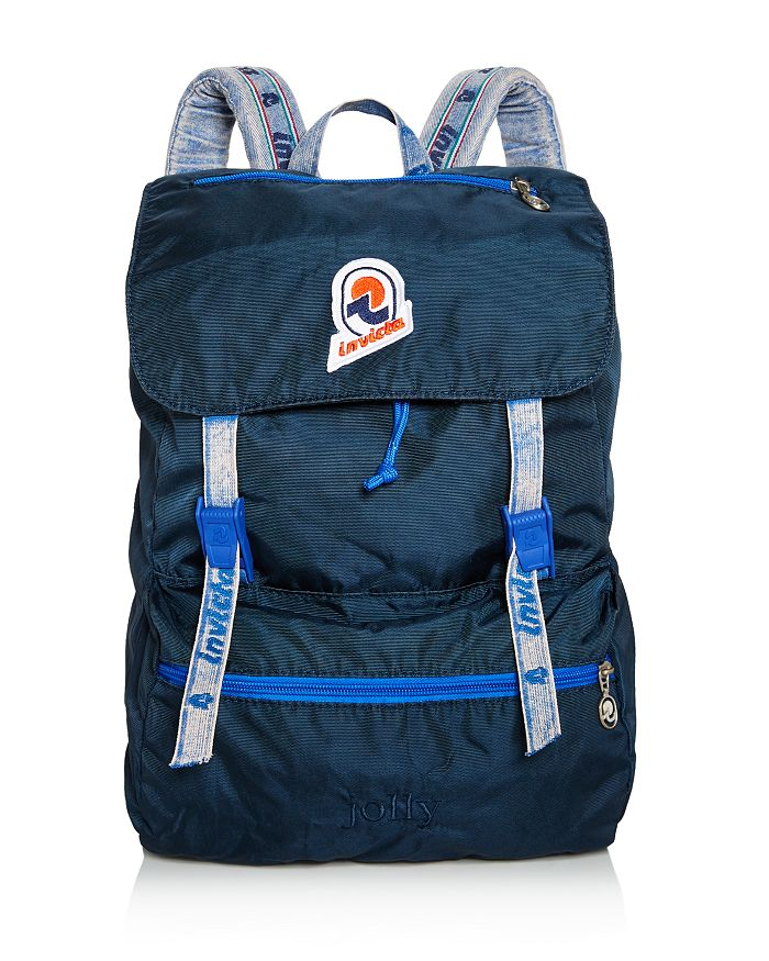 Invicta Jolly Vintage Backpack In Blue