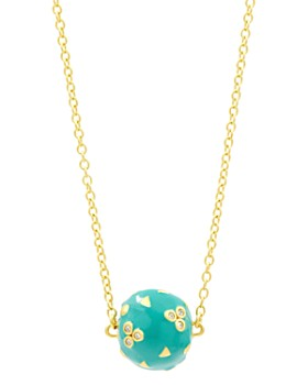 Freida Rothman - Harmony Ball Pendant Necklace in 14K Gold-Plated Sterling Silver