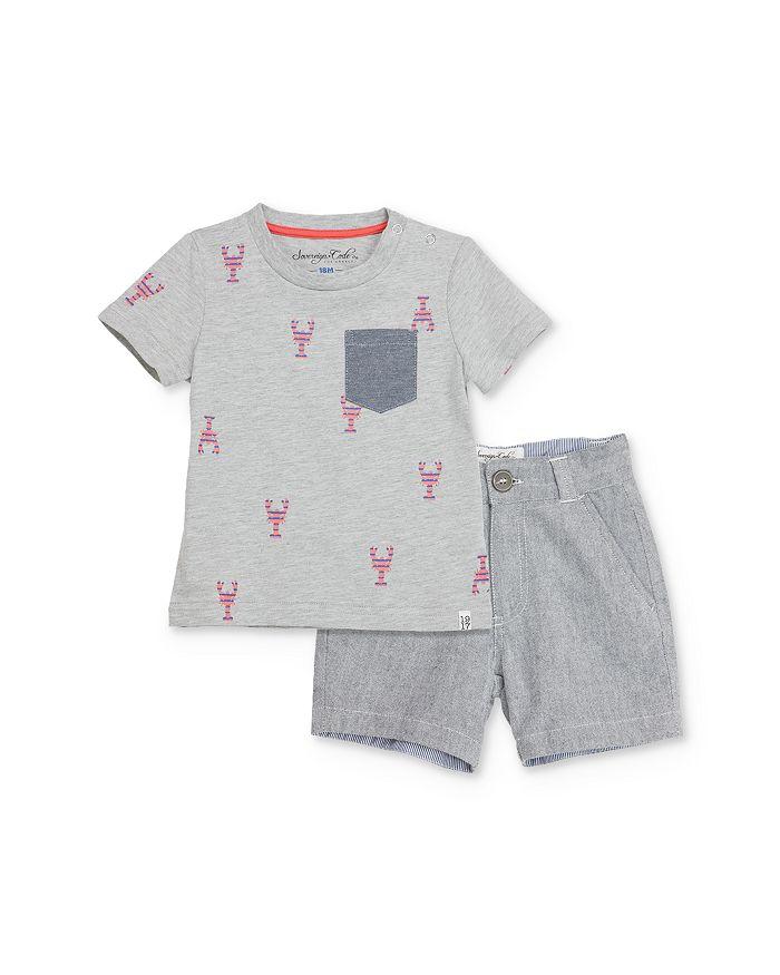 Sovereign Code - Boys' Lobster Tee & Shorts Set - Baby