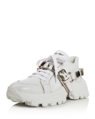 Monstar Crystal Embellished Sneakers