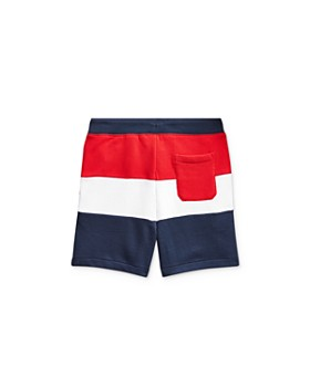 Ralph Lauren - Boys' Striped French Terry Shorts - Little Kid