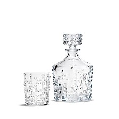 Nachtmann - Punk Whiskey Decanter and Double Old Fashioned Set
