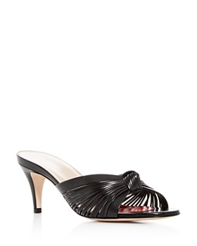 Gucci - Women's Crawford Mid-Heel Slide Sandals