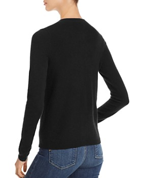 08554ac260c Black Cashmere Sweater - Bloomingdale's