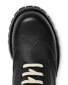 Gucci - Men's Leather Brogue Lace-Up Boots