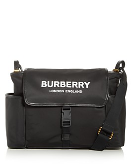 Burberry - Nylon Logo Diaper Bag