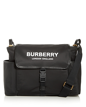 Burberry Nylon Logo Diaper Bag