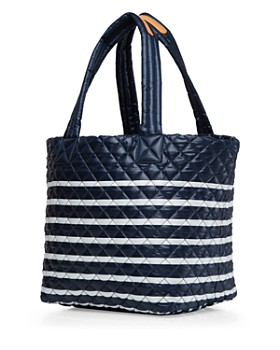 MZ WALLACE - Striped Medium Metro Tote