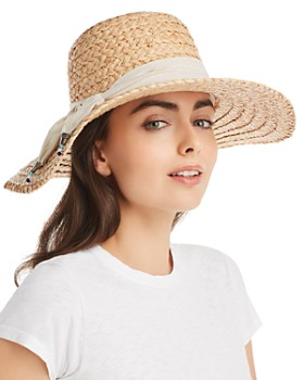 Ale by Alessandra - Marigot Raffia Sun Hat