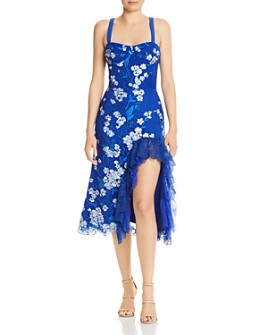 BRONX AND BANCO - Tiffany Floral-Embroidered Dress