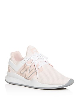 New Balance - Women's 247 Knit Low-Top Sneakers