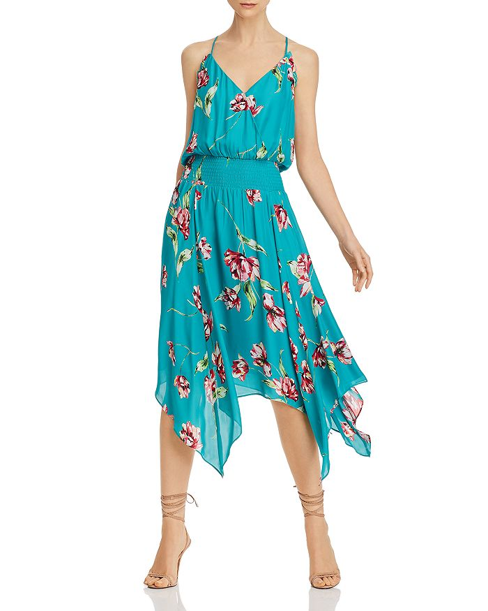 Parker - Floral-Print Midi Dress