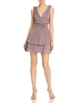 Saylor - Metallic Rainbow Mini Dress