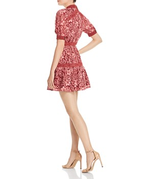 Keepsake - Holder Lace Mini Dress