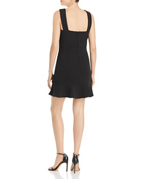 AQUA - V-Neck Sheath Dress - 100% Exclusive