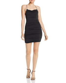 Tiger Mist - Reese Bodycon Ruched Mini Dress