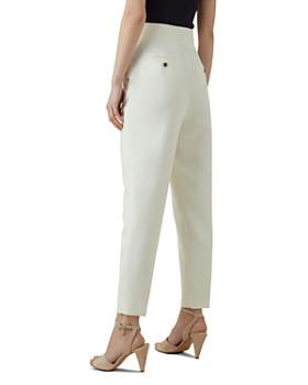 KAREN MILLEN - High-Waisted Tailored Pants