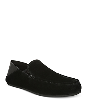 Vince Men's Gino 2 Mixed-Media Slippers
