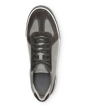 Vince - Men's Rogue Color-Block Mixed-Media Sneakers