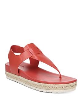 Vince - Women's Flint Platform Thong Sandals
