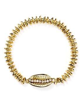 AQUA - Pavé Shell Bracelet - 100% Exclusive